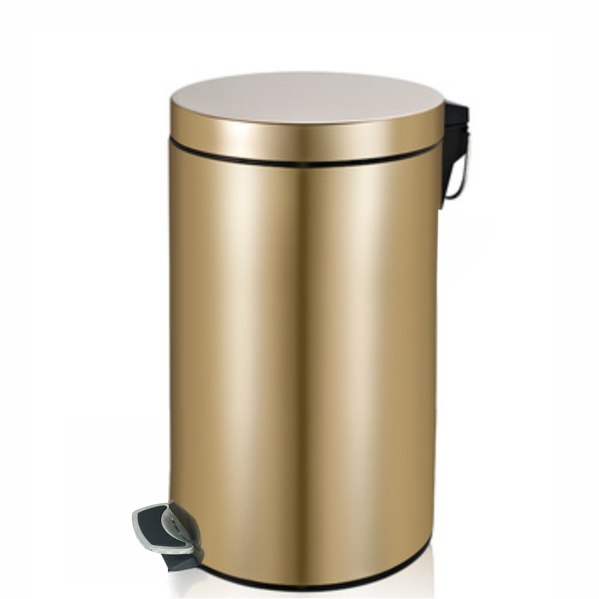 Stainless Steel Step Bin 20 Litre - Champagne Gold - product image