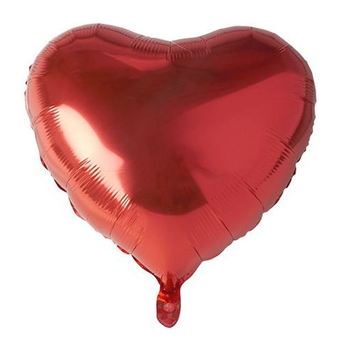 18,Heart,Ruby,Foil,Balloon,18 Heart Ruby Foil Balloon, balloon