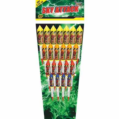 Sky,Attack,Rocket,22,Pieces,Sky Attack Rocket 22 Pieces