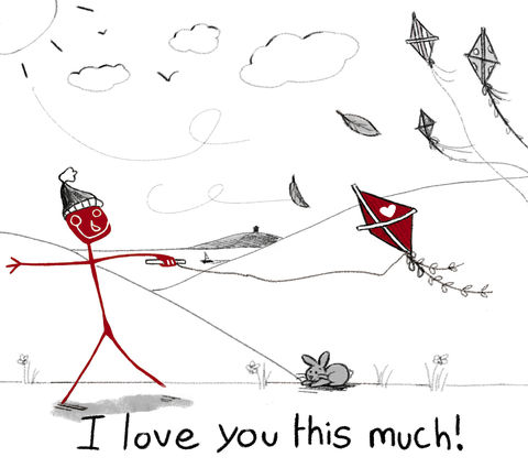 Sanguine,I,Love,You,This,Much,Flying,Kite(SANGILY2),I love you this much