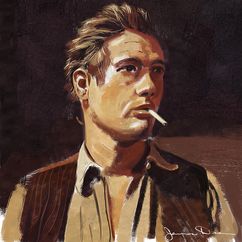 James Dean Greetings Card - product images
