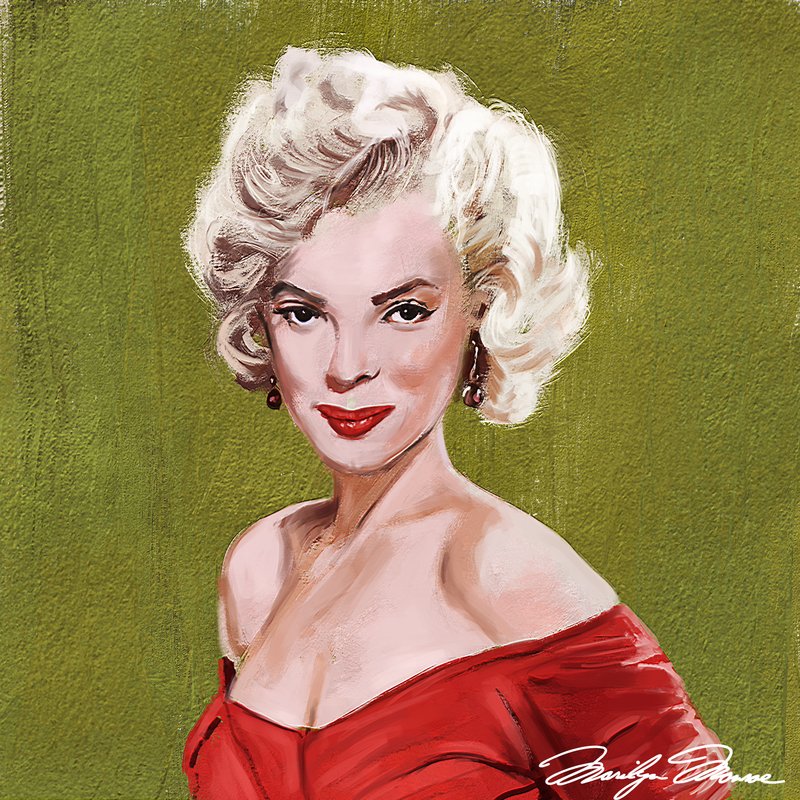 Marilyn Monroe Greetings Card  - product images