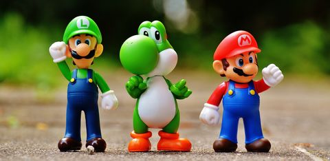 Mario,and,Pals(CARA7),I LOVE YOU THIS MUCH