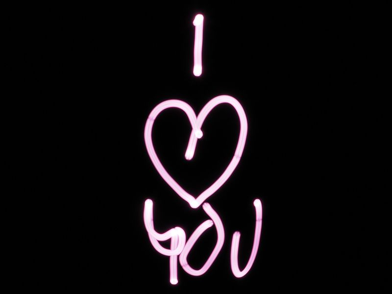 I love You Neon(love11) - product images