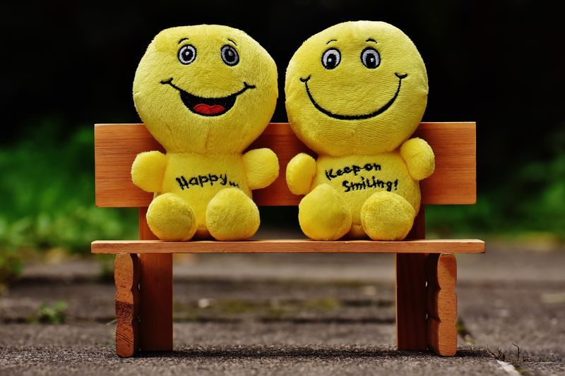 Two Smiley Faces(CARA2) - product images