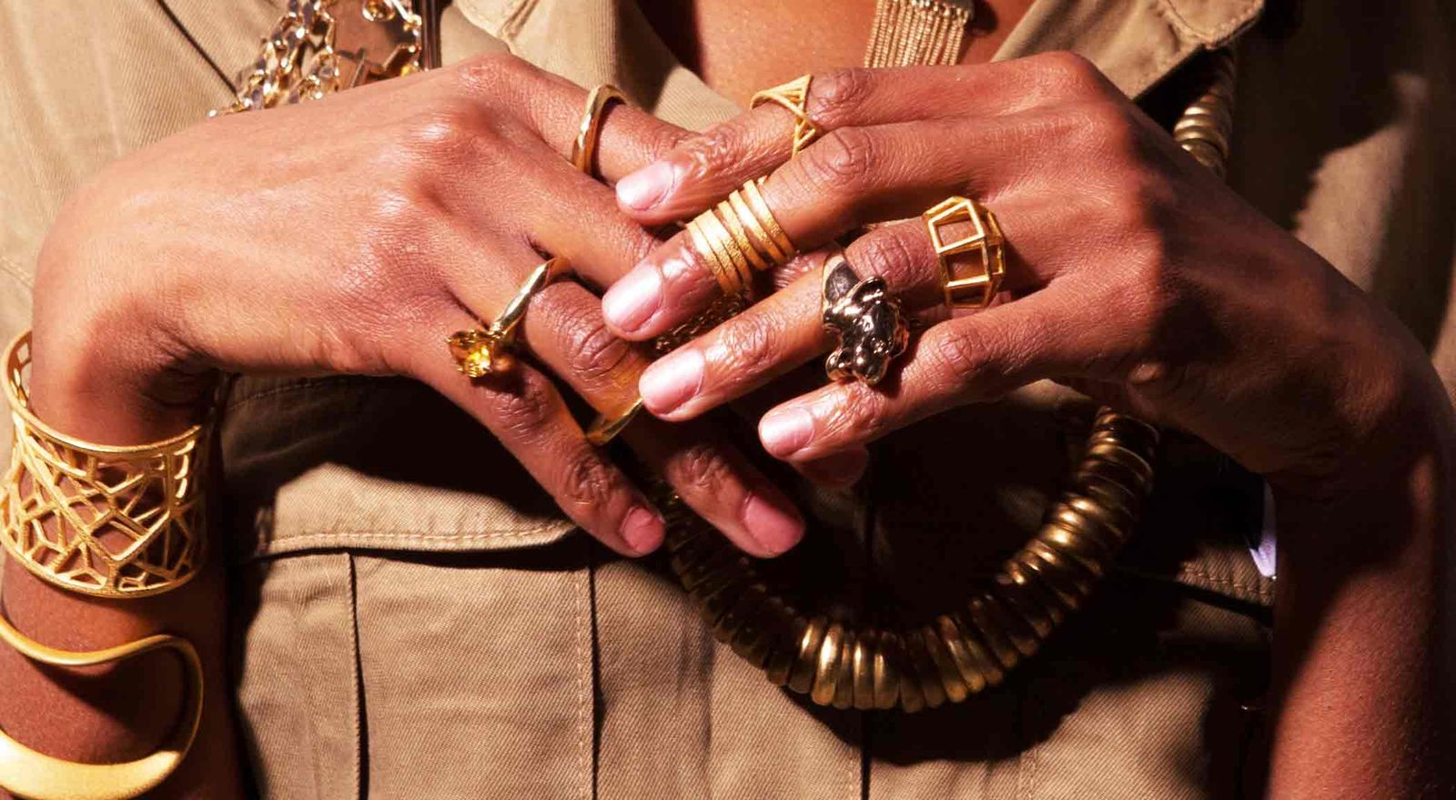 18K solid Gold Rings by Catherine Marche