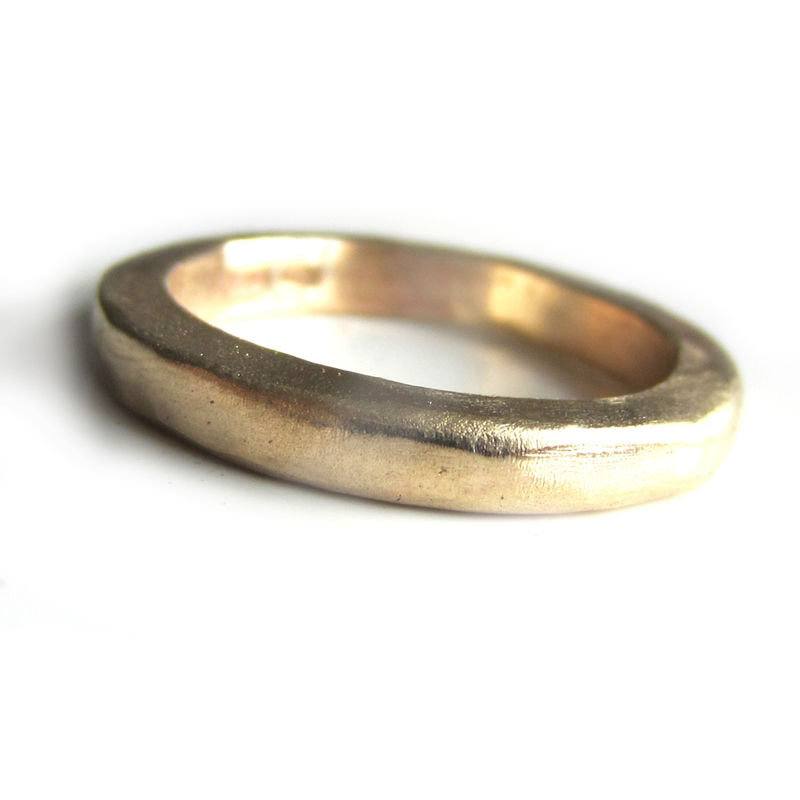 Thick Solid Gold Wedding Ring In 22 Carat Yellow Product Images Of