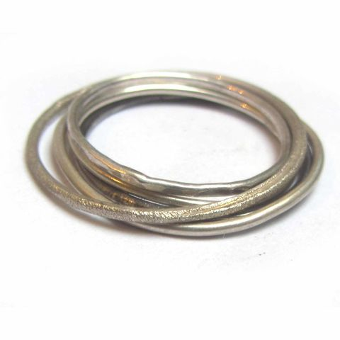 Set,of,5,Mini,dainty,skinny,sterling,silver,stacking,rings,1mm,mini stacking rings, set of rings,silverJewellery,Ring,Gold,jewellery,stacking rings,stackable rings,delicate rings,dainty rings,skinny rings,jewellery in the uk,bagues de phalange