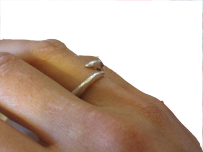 Sterling silver Open Claw Ring - product images  of