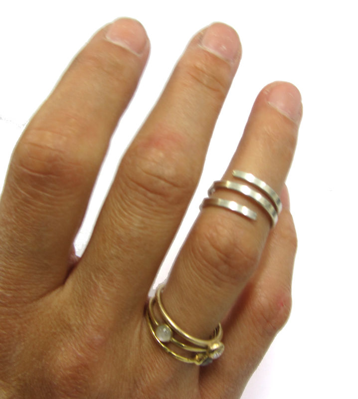 Twist & Curl 18ct gold Vermeil ring - product images  of