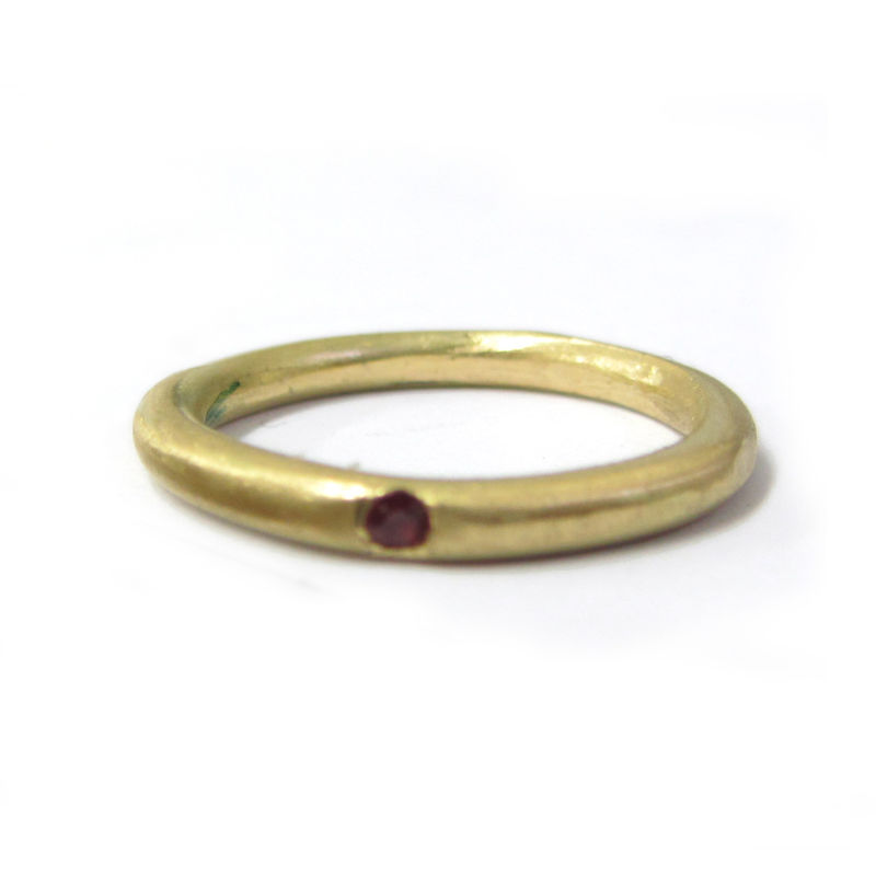 Unisex Ruby 18K Gold Ring - product images  of
