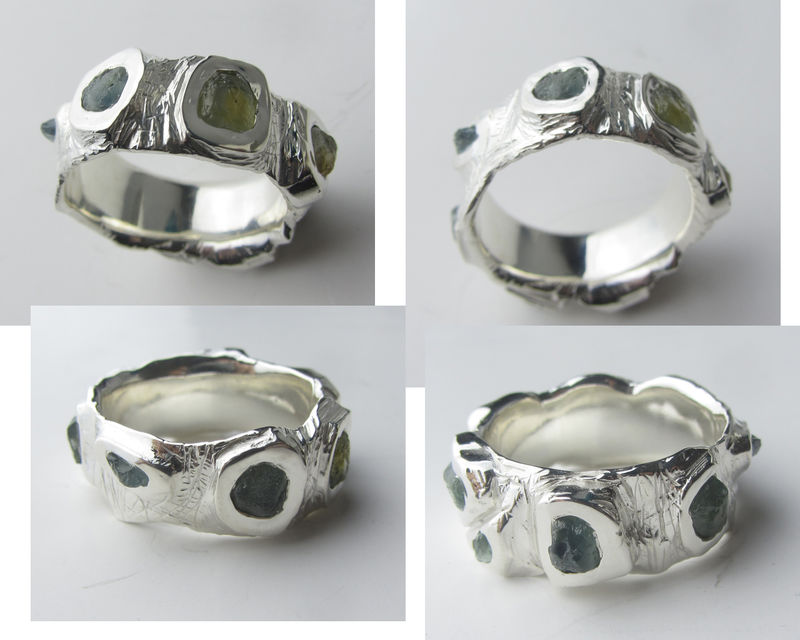 Rough Sapphire Ring - product images