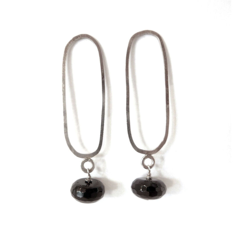 Onyx Drop Earrings - product images  of