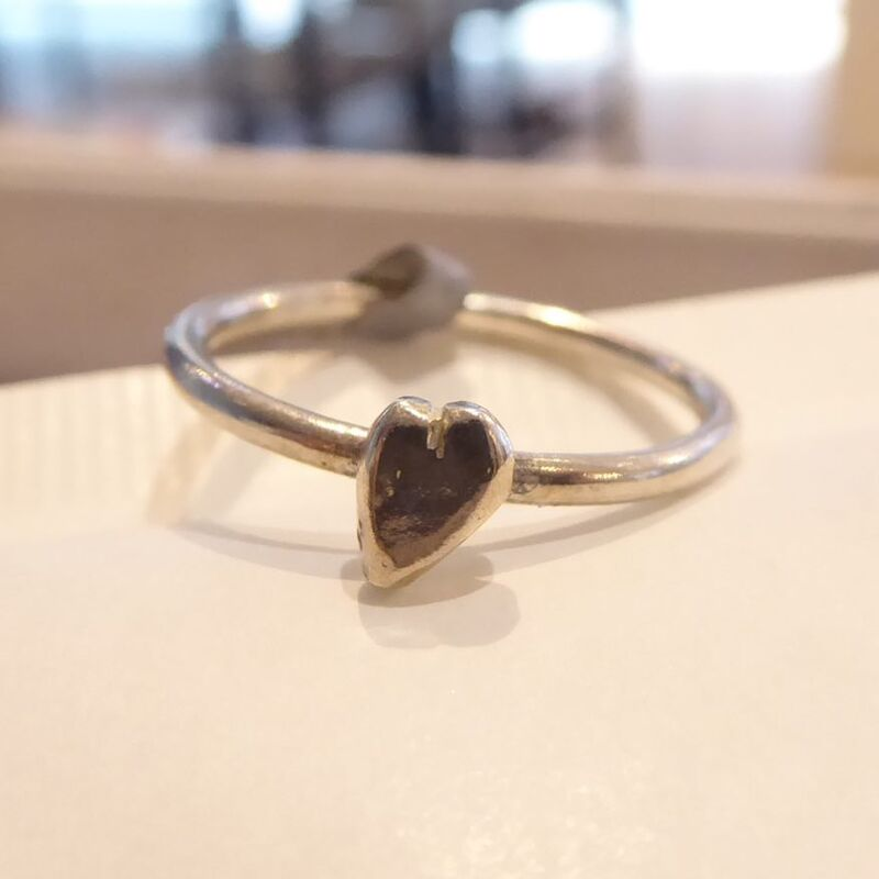 Le Love mini Heart Ring by Catherine Marche - product images  of