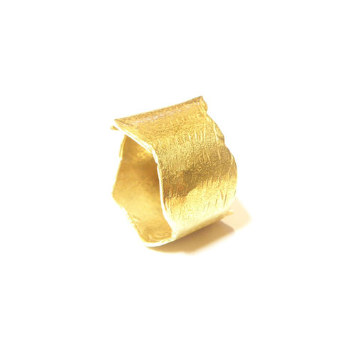 22ct,gold,Calypso,Ring,22ct gold ring, large gold band, 22K wedding ring, sculptural gold ring, indian gold jewellery, catherine marche