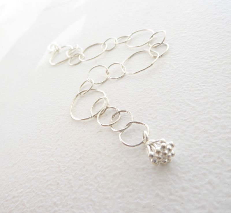 Loopy Bracelet in recycled silver - product images  of