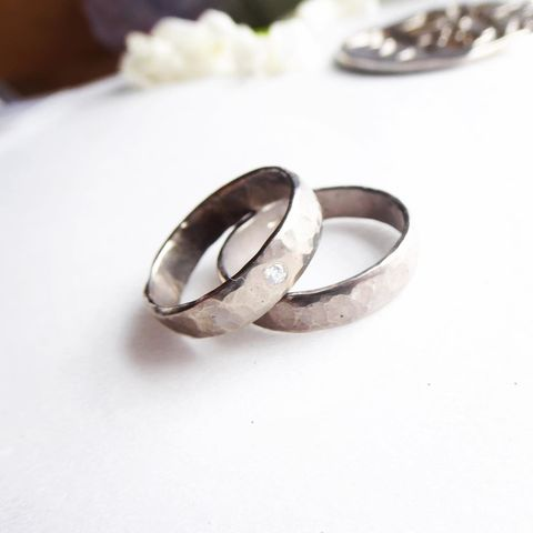 18ct,recycled,white,gold,wedding,ring,hammered,5mm,wide,recycled white gold, hammered gold ring, rustic ring, wedding ring for men, jewellery for men,unusual rings, large wedding band, solid gold ring,celebrity jewellery, Max Brown, recycled gold, 18ct white gold, alliance or gris