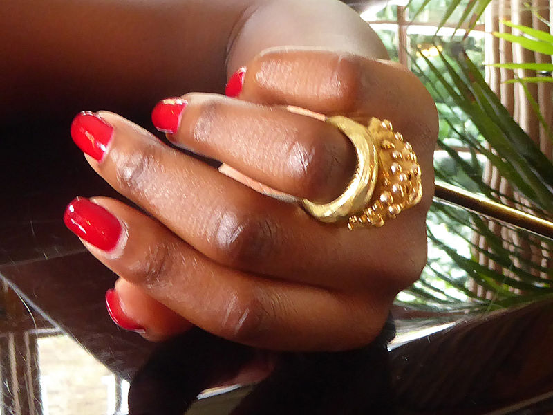 Golden  Bombée Statement Ring - product images  of