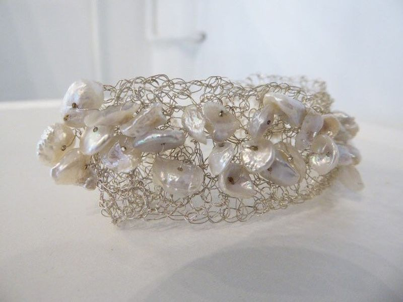 Keshi Pearls Luxurious Cuff - product images  of
