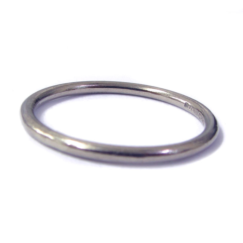 Thin 18K White Gold Ring - product images  of