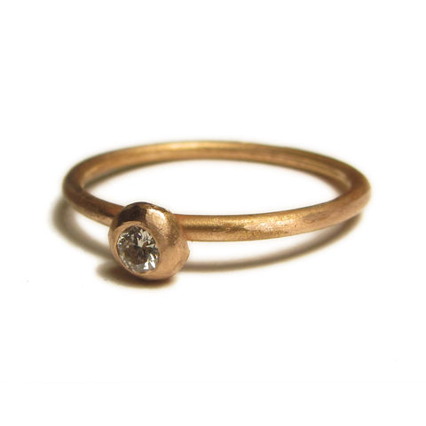 18,carat,rose,gold,ring,with,diamond,stacking,rings,Jewelry,stacking Rings,rose Gold jewellery,rose gold,gold engagement ring,custom made jewelry,white diamond,wedding ring,18k gold,18ct gold,diamond ring