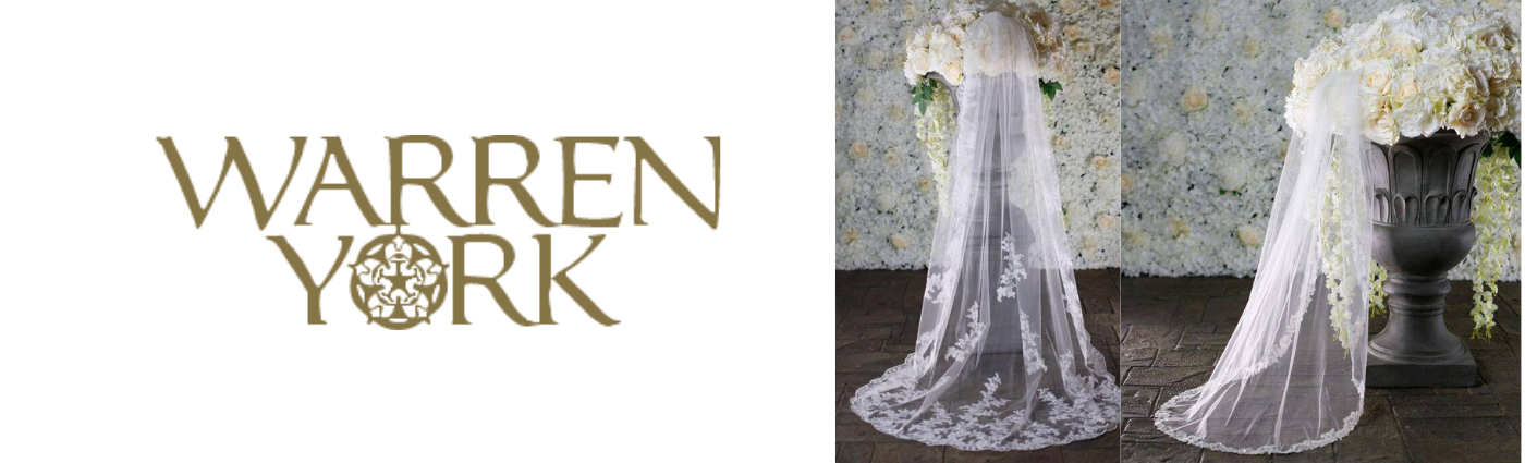 Warren York Wedding veils