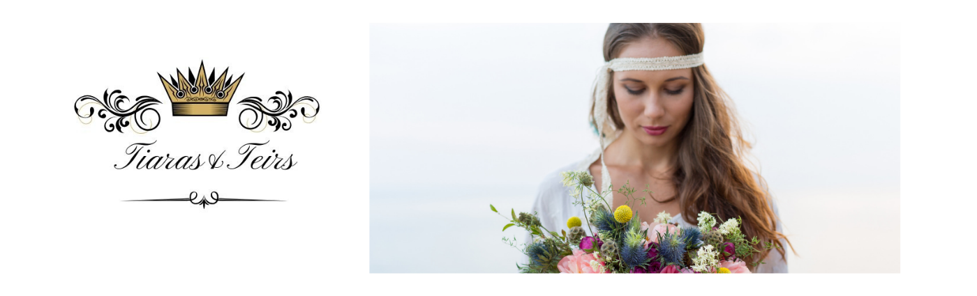 Boho chic wedding hair accessories