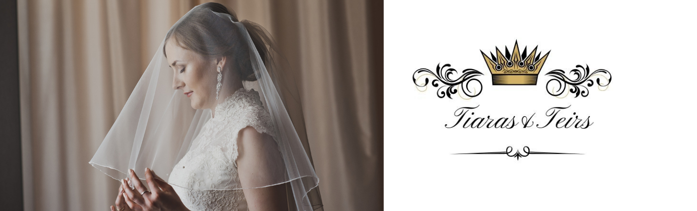 shoulder length and elbow wedding veils