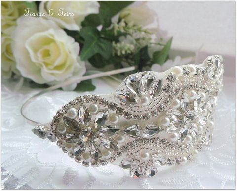 Vintage,rhinestone,wedding,side,headband,vintage rhinestone wedding side headband, Bridal headband for Hollywood glamour weddings,wedding side headband, vintage bridal side hairband, vintage hair pieces for brides, hairbands for brides, vintage headband uk, vintage headband for weddings, hair ac