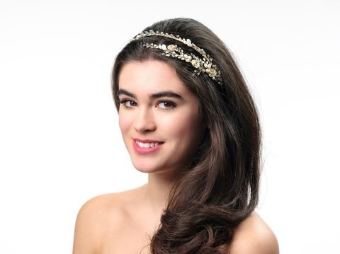 Pearl,and,crystal,floral,gold,wedding,headband,Pearl and crystal floral gold wedding hiarband, wedding floral hairpiece, floral hair accessories for weddings, UK wedding tiara, floral bridal hair piece, floral wedding headband, gold wedding hair accessories, bridal headband for a modern bride, modern