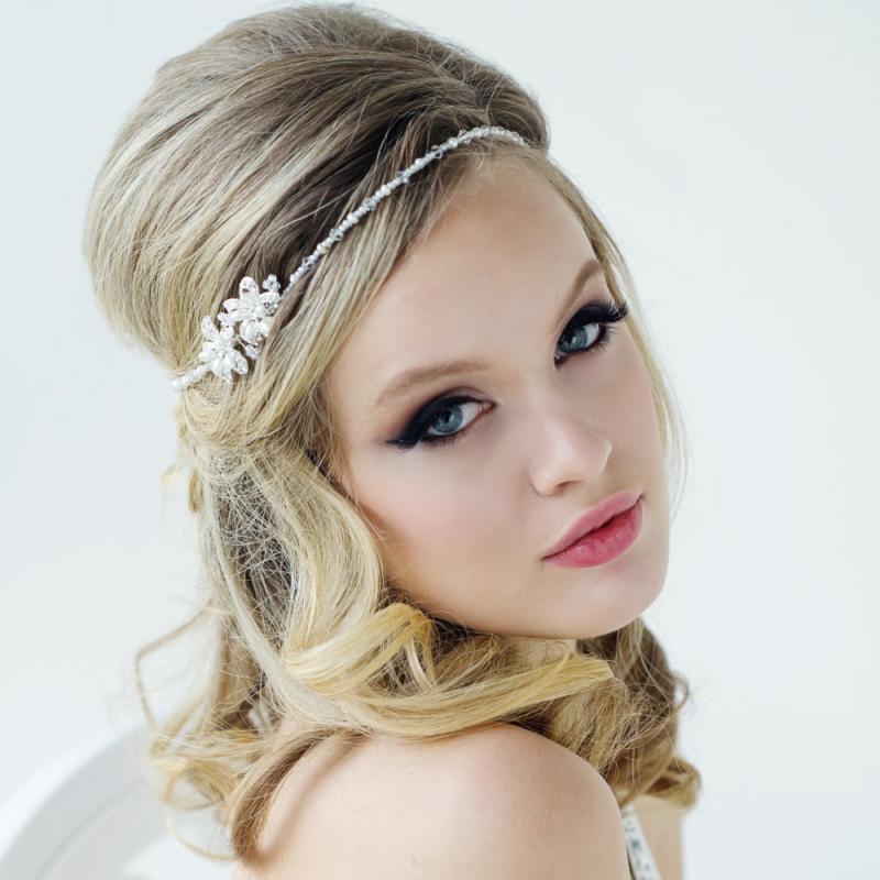 Vintage Boho Style Wedding Headpiece