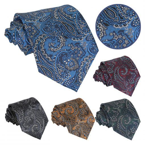 Royal Paisley Mens wedding ties and accessories - product images  of