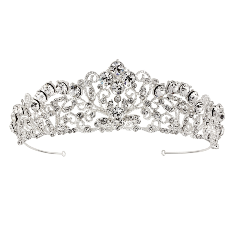 Princess crystal wedding tiara - product images  of