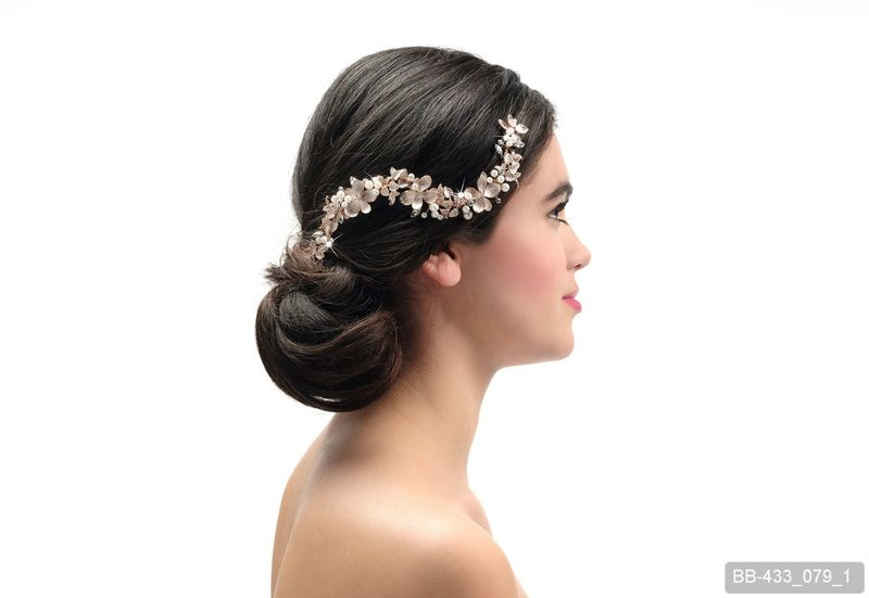 Floral wedding hair vine - product images  of