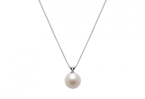 Cultured,river,water,pearl,pendent,and,chain,wedding,necklace,simple pearl wedding necklace, pearl and sterling silver pendent, wedding necklace, bridesmaid gifts, pearl wedding gift, pearl necklace, bridal pearl necklace