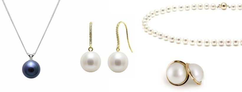 Precious pearl wedding jewellery