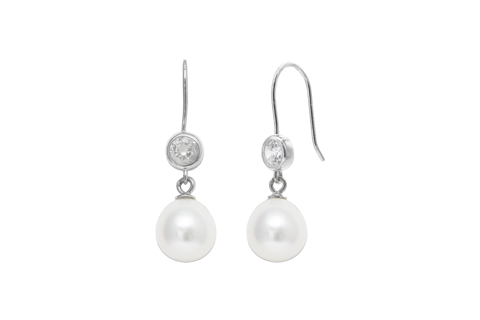 Cubic,zirconia,sterling,silver,pearl,wedding,earrings,cubic zirconia sterling silver pearl wedding earrings, pearl wedding earrings, pearl earrings for weddings, wedding jewelelry for brides, earrings for brides, classic pearl earrings, pearl earrings uk, pearl wedding jewellery for weddings, pearl accessori