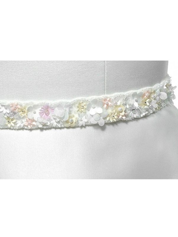 Mini daisy floral wedding dress belt  - product images  of