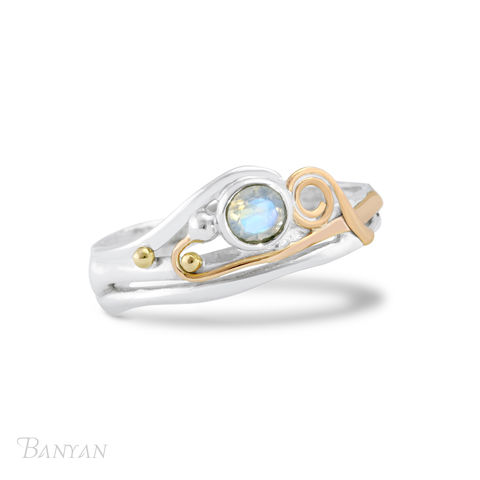 Moonstone,and,sterling,silver,ring,Bridesmaid gifts, bride gift, moonstone and sterling silver ring, bridal ring, alternative wedding ring, moonstone and gold wire ring, sterling silver ring, sterling silver wedding jewellery, gemstone jewellery, boho chic wedding jewellery, alternative we
