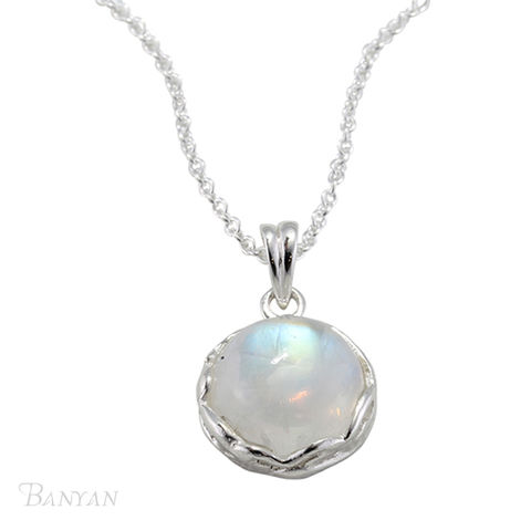 Round,moonstone,pendent,and,chain,wedding,necklace,Moonstone wedding necklace, Round moonstone pendent and chain wedding necklace , wedding necklace, sterling silver wedding necklace, gemstone bridal necklace, alternative wedding jewellery, bridesmaid wedding gift, sterling silver wedding jewellerybride w
