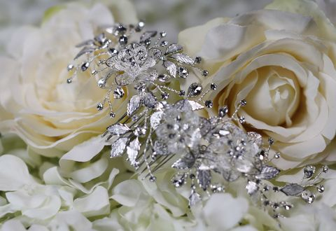 Diamante,and,floral,silver,wedding,hair,comb,Diamante and floral silver wedding hair comb, silver wedding hair comb, bridal floral wedding hair comb, diamante bridal hair comb, wedding hair accessories, bridal hair accessories, hair comb, floral hair comb,