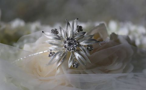 Large,silver,flower,bridal,headband,Large silver flower bridal headband, accessories for brides, accessoires for weddings, wedding hairband uk, floral wedding hairband, large flower wedding headband, large flower wedding ahir band, side tiara, bridal hair band, warren york side headband, vi
