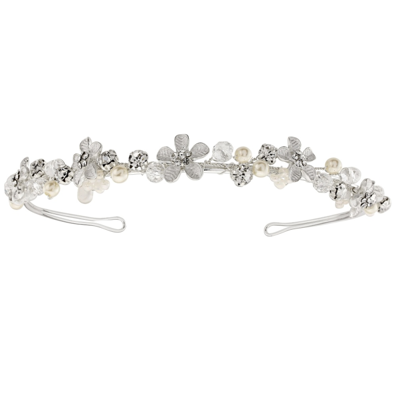 Daisy headband with matching bridal jewellery wedding set  - product images  of