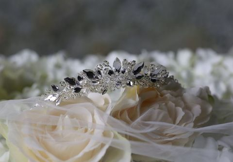Diamante,and,seed,bead,wedding,tiara,Diamante and seed bead wedding tiara, daimante wedding tiara, wedding tiara for short hair, wedding hair accessories, bridal tiara, silver wedding tiara, bridal diamante tiara, warren york wedding tiara, bridal hair accessories,