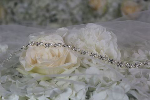 Pearl,and,diamante,thin,wedding,dress,belt,Pearl and diamante thin wedding dress belt, bridal accessories, accessorie for brides, uk wedding accessories, bridal accessories in uk, wedding dress belt, wedding dress accessories, bridal gown accessories, pearl and diamante wedding gown belt, bridal a