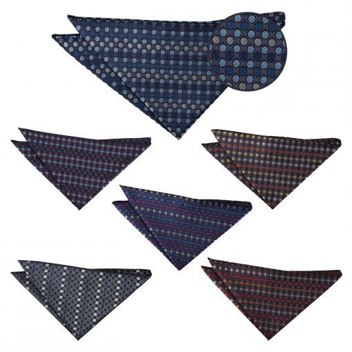 Chequered Polka Dot groomsmen ties - product images  of