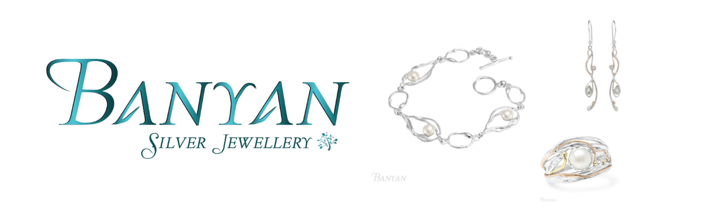 Banyan sterling silver wedding jewellery