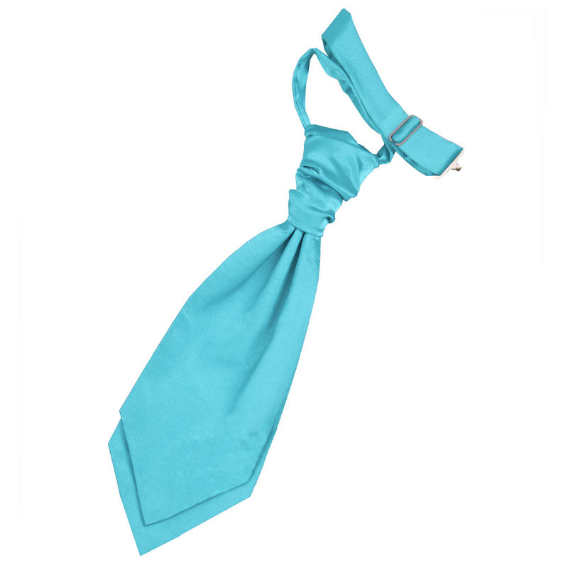 Plain groomsmen and page boy wedding cravats - product images  of