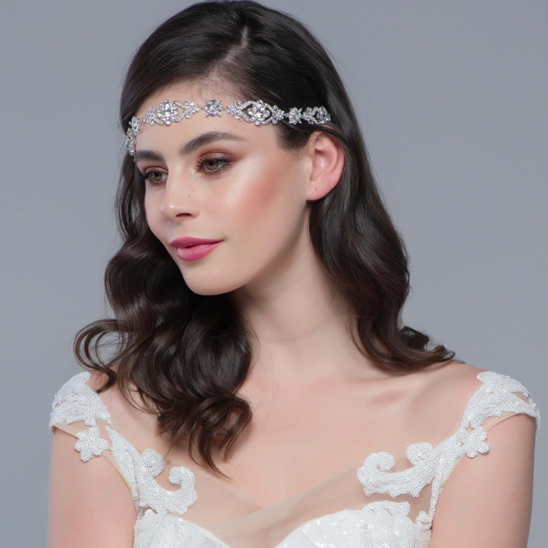 Luxury crystal wedding headpiece - product images  of