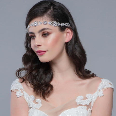Luxury,crystal,wedding,headpiece,Luxury crystal wedding headpiece , crystal wedding hair piece, wedding brow band, wedding crystal headband, crystal wedding hair accessories, wedding hair accessories for brides, bridal headpieces, modern bohemian wedding headpiece, wedding headpiece by T